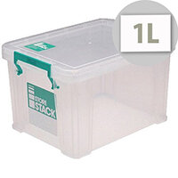 StoreStack Clear 1 Litre Storage Box W180 x D110 x H90mm RB00814  sc 1 st  Hunt Office & Plastic Storage Boxes - HuntOffice.ie Ireland