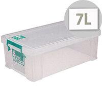 StoreStack Clear 7.5 Litre Storage Box W250 x D190 x H160mm RB00817