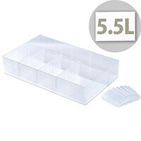 StoreStack Small Tray Clear RB77235