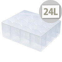 StoreStack Large Tray Clear RB77236