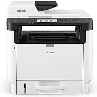 Ricoh SP330SFN A4 Mono Laser 4-in-1 Multifunction Printer - 32ppm - Scan, Copy, Fax - USB 2.0 Type B - Automatic Duplex - 1200x1200dpi - WiFi Option