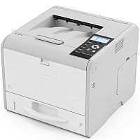 Ricoh SP3710DN A4 Mono Laser Printer - 32ppm - USB 2.0 Type B - Automatic Duplex - 1200x1200dpi - WiFi Option, Locked Print, LCD Panel
