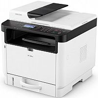 Ricoh SP330SN A4 Mono Laser 3-in-1 Multifunction Printer - 32ppm - Scan, Copy - USB 2.0 Type B - Automatic Duplex - 1200x1200dpi - WiFi Option, Google Cloud Print
