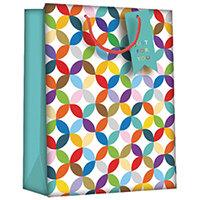 Regent Gift Bags Bright Link Geometric