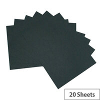 RDI Office Black A3  Card Paper 210gsm Black Pack of 20