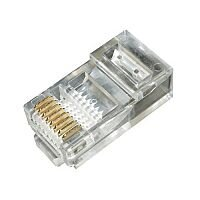 RJ45 Crimp Plugs for Solid UTP Cable Bag of 100