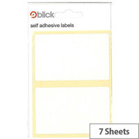 Blick White 50x80mm Label (280 Labels)