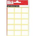 Blick Label Bag 19x25mm White (105 Labels)