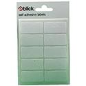 Blick Label Bag 19x38mm White (Pack of 70)