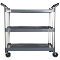 Rubbermaid X-Tra Open Cart Black