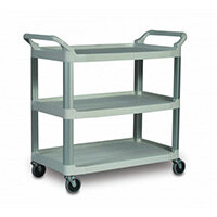 Rubbermaid X-Tra Open Cart Grey