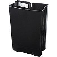 Rubbermaid 50L Rigid Liner For Metal Step-On Front Step Slim Jim Waste Basket Black