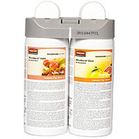Rubbermaid Microburst Duet Fragrance Airfreshener Dispenser Refill Tender Fruits & Citrus Leaves Refills