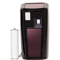 Rubbermaid Microburst 3000 Dispenser Retrofit Cover with LumeCel Technology Black