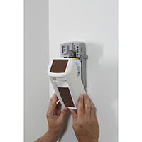 Rubbermaid Microburst 3000 Dispenser Retrofit Cover with LumeCel Technology White