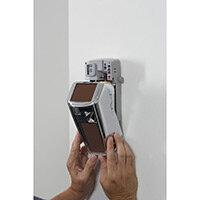 Rubbermaid Microburst 3000 Dispenser Retrofit Cover with LumeCel Technology Chrome