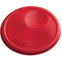 Rubbermaid Medium Lid For 7.6L Round Food Storage Containers Red