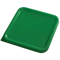 Rubbermaid Small Lid for 3.8L & 7.6L Space Saving Square Food Storage Containers Green