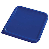 Rubbermaid Small Lid for 3.8L & 7.6L Space Saving Square Food Storage Containers Blue