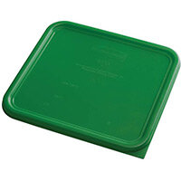 Rubbermaid Large Lid for 11.4L Space Saving Square Food Storage Containers Green