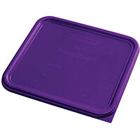 Rubbermaid Large Lid for 11.4L Space Saving Square Food Storage Containers Purple
