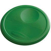 Rubbermaid Medium Lid For 7.6L Round Food Storage Containers Green