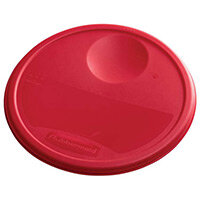 Rubbermaid Large Lid For 11.4L, 17L & 20.8L Round Food Storage Containers Red