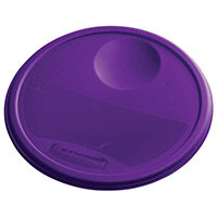 Rubbermaid Large Lid For 11.4L, 17L & 20.8L Round Food Storage Containers Purple
