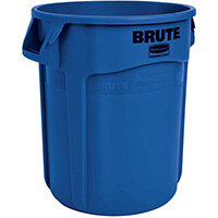 Rubbermaid BRUTE 75.7L Heavy-Duty Round Waste & Utility Container Blue