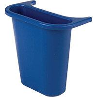 Rubbermaid Saddle Bin for Waste Separation 4.5L Blue