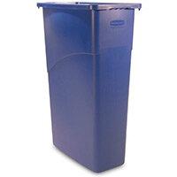 Rubbermaid Slim Jim 87L Waste Container Blue