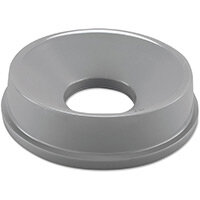 Rubbermaid Funnel Top Bin Lid for 2947 & 3546 Round Containers Grey