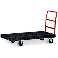 Rubbermaid Heavy Duty Platform Truck 133x61x106cm