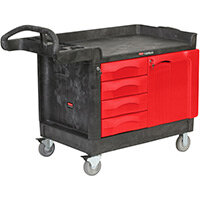 Rubbermaid TradeMaster 4 Drawer & 1 Door Mobile Cabinet