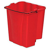 Rubbermaid 17L Dirty Water Bucket for WaveBrake Wringer Red