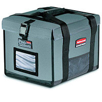 Rubbermaid ProServe Lightweight Insulated Half Pan Top Load Carrier Grey