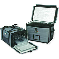 Rubbermaid ProServe Lightweight Insulated Full Pan Top Load Carrier Grey