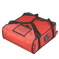 Rubbermaid Thermal Performance Small Pizza Delivery Bag Fits 20x40cm Pizzas Red