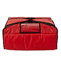 Rubbermaid Thermal Performance Large Pizza Delivery Bag 115L Red