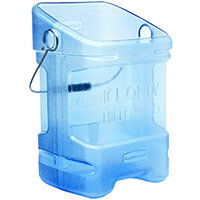 Rubbermaid 20.8L Ice Tote with Bin Hook Adapter Blue