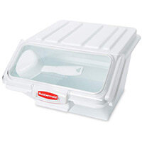 Rubbermaid 10L ProSave Safety Mini Food Storage Bin With Lid Stackable White