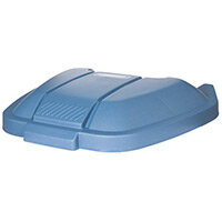 Rubbermaid Mobile Container Lid Blue