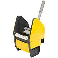 Rubbermaid Mop Bucket Down Pressure Wringer Yellow