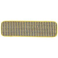 Rubbermaid HYGEN Microfiber Scrubber Mop 40cm Yellow
