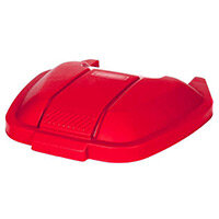 Rubbermaid Mobile Container Lid Red