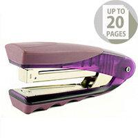 Rexel Centor Stand Up Stapler Translucent Purple 2101014