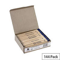 Rexel Office Pencils Natural Wood HB Pack of 144