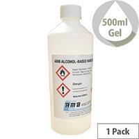 AMB Alcohol Based HAND SANITISING Gel 500ml Bottle