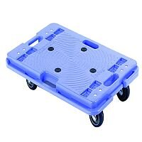 Stackable Plastic Platform Dolly 600x400x120mm