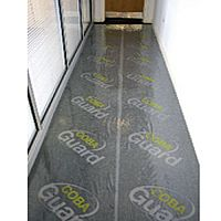Cobaguard Carpet Protection Film 25 Meters Long 600 Millimeters Wide. Doesn't Damage Carpet. Ideal For Decorating Or Removing.